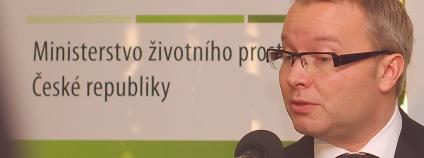 Ministr životního prostředí Tomáš Chalupa. Foto: Martin Singr / Ekolist.cz