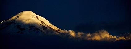 Ekvádorská sopka Chimborazo Foto: Alejandro villanueva Flickr