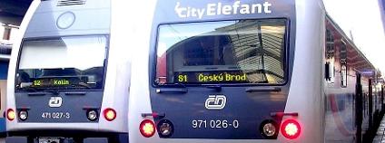 Vlakové soupravy City Elefant Foto: Šjů Wikimedia Commons