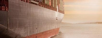 Kontejnerová loď Foto: kliempictures pixabay.com