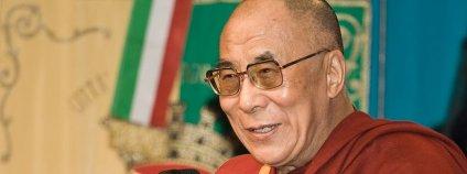 Čtrnáctý tibetský dalajlama Foto: Luca Galuzzi Wikimedia Commons
