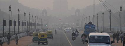 Smog v indickém Dillí Foto: Mark Danielson Flickr.com