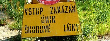 tzv. dioxinový barák A1030 v areálu Spolany. Foto: Jan Stejskal/Ekolist.cz