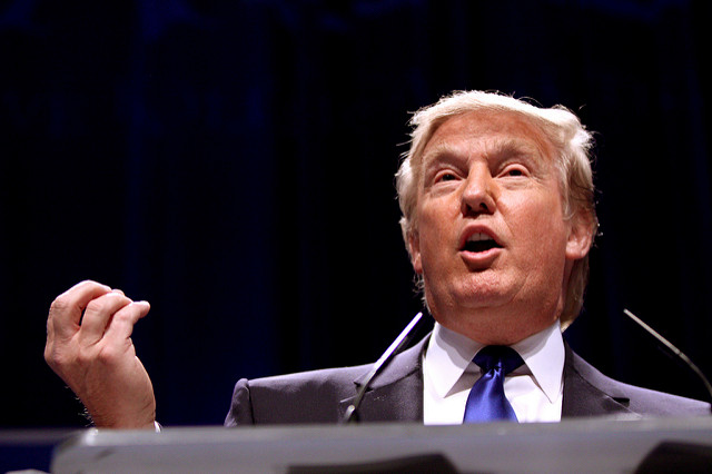 Americký prezident Donald Trump již nepokládá globální oteplování za kachnu, ale pochybuje o skutečném vlivu lidské činnosti na klimatické změny. / Ilustrační foto
