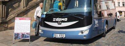 Elektrobus v Olomouci Foto: DPMO