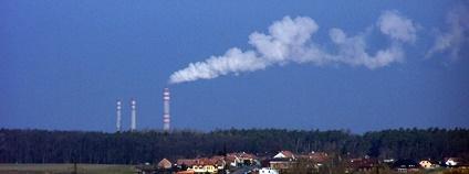 Elektrárna Opatovice Foto: Michal Louč Wikimedia Commons