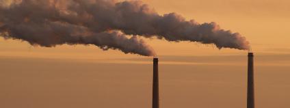 Tepelná elektrárna u Michiganského jezera ve Spojených státech Foto:Ralf Broskvar Shutterstock