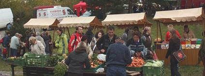 Farmářský trh v Brně Foto: Michal Sänger Flickr.com