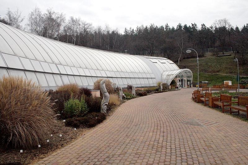 V botanické zahradě se upravují expozice ve skleníku Fata Morgana