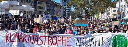 Demonstrace Fridays for Future v Německu Foto: Fridays For Future Deutschland Facebook