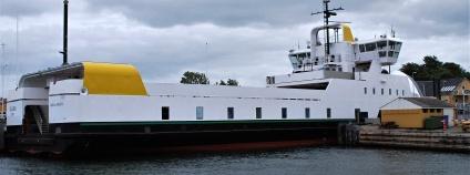První plně elektrický trajekt Ellen v Dánsku