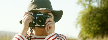 Fotografování v přírodě Foto: Gena Melendrez Shutterstock