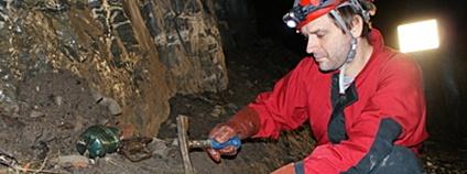 Vědci dokumentují odpad v jeskyních Foto: Mendelova univerzita v Brně