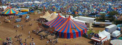 Festival v Glastonbury Foto: Alvaro O. Flickr