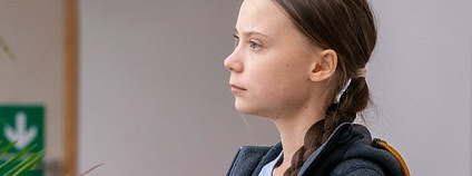 Greta Thunberg Foto: European Parliament Flickr.com