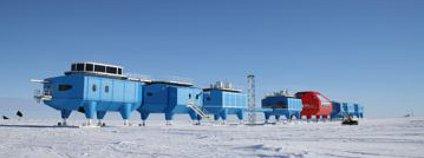 Britská antarktická stanice Halley IV Foto: British Antarctic Survey