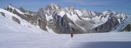 Mont Blanc je tradičně považován za nejvyšší vrchol Evropy Foto: Simon Pixabay