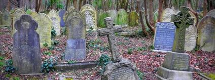 Londýnský hřbitov Highgate Foto: Andrew Gustar Flickr