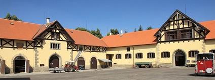 Hřebčín Slatiňany Foto: Petr Kadlec Wikimedia Commons
