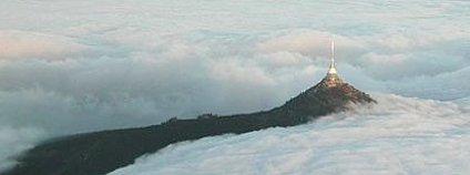 Inverze nad Libercem Foto: Nonnel Wikimedia Commons