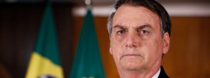 Brazilský prezident Jair Bolsonaro.