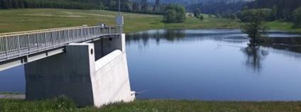 Dvouleté zkušební měření prokázalo, že suchá nádrž Jelení je bezpečné vodní dílo Foto: Povodí Odry