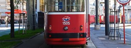 Tramvaj ve Vídni Foto: Jeremy Bezanger Unsplash
