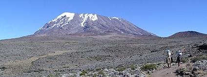 Nejvyšší hora Afriky - Kilimandžáro Foto: Yosemite Wikimedia Commons