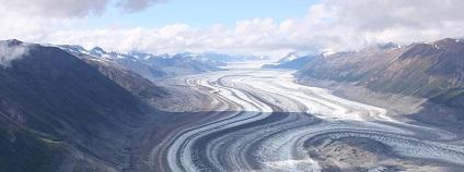 Ledovec v Yukonu v Kanadě Foto: brigachtal pixabay