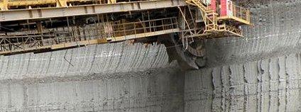 Kolesové rypadlo Foto: MAKY.OREL / Wikimedia Commons