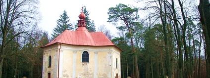 Kostel svaté Anny u Pohledu Foto: Petr1888 Wikimedia Commons