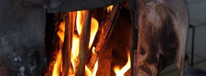 Oheň v kamnech Foto: Vervedilis Vasilis Shutterstock
