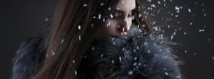 Dívka v kožešině Foto: ABulash Shutterstock.com