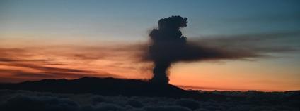 Sopka na ostrově La Palma Foto: La Moncloa - Gobierno de España Flickr