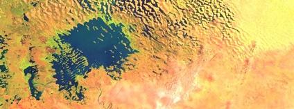 Čadské jezero Foto: Sentinel Hub