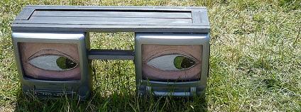 Lavička z obrazovek Foto: John Harpnut / Flickr.com