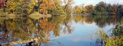 Zámecký rybník v Lednici na podzim Foto: Jan Helebrant Flickr