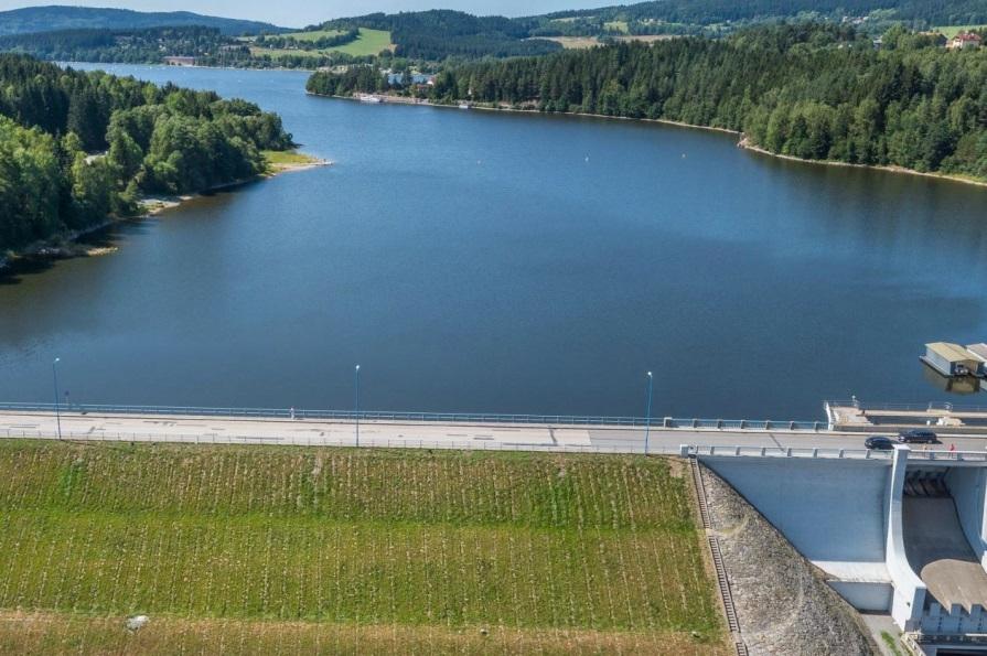 Vodní elektrárna Lipno má nová unikátní čidla, pomáhají předvídat přehřívání