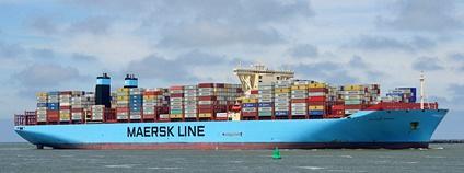 Nákladní loď MAYVIEW MAERSK Foto: kees torn Flickr