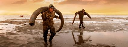 Honba za mamutími kly na Novosibiřských ostrovech.
