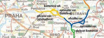 Mapa n�vrh� D-O-L Foto: Plavba a vodn� cesty o.p.s. / Wikimedia Commons