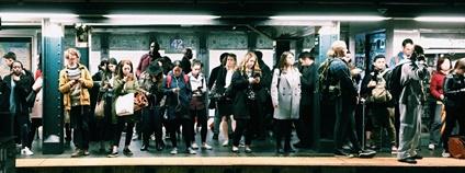 Metro v New Yorku Foto: Eddi Aguirre Unsplash