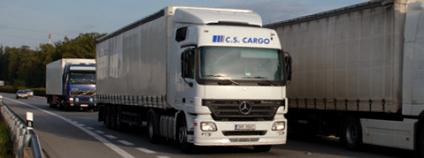 Navzdory poklesu nákladní dopravy se kvalita ovzduší nezlepšila. Foto: Kapsch