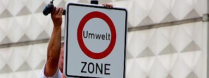 Značka nízkoemisní zóny v Německu Foto: gynti_46 Flickr.com