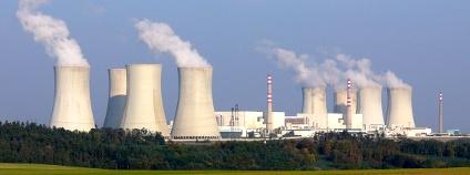 Jaderná elektrárna Dukovany Foto: Petr Adamek Wikimedia Commons