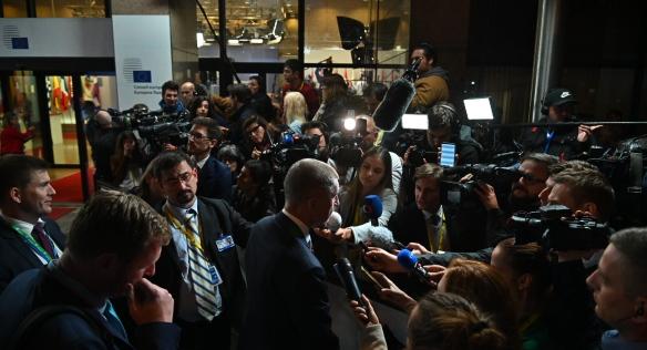 Premiér se zúčastnil zasedání Evropské rady v Bruselu, 21. června 2019.