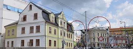 Liberec, dům U Zeleného stromu Foto: encsere Wikimedia Commons