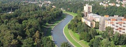 Ostravice v Ostravě Foto: Lukáš Mižoch Wikimedia Commons