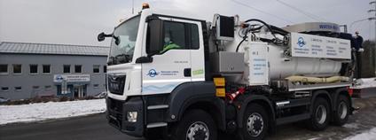Kanalizační vůz s recyklací KAISER AQUASTAR IV Foto: Ostravské vodárny a kanalizace