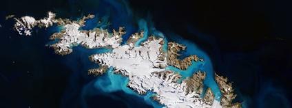 Ostrov Jižní Georgie Foto: European Space Agency Flickr